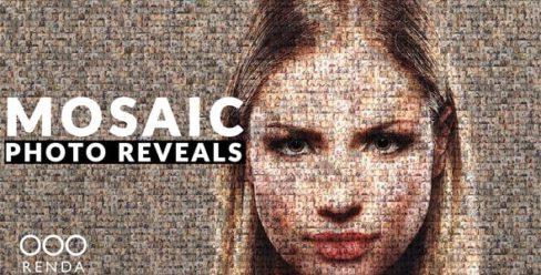 Mosaic Photo Reveal – 25091535
