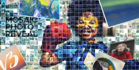 Mosaic Photo Reveal – 7266788