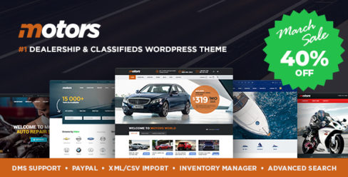 Motors – Car Dealer, Rental & Classifieds WordPress theme – 13987211