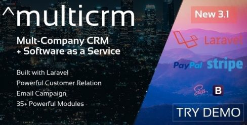 Multicrm – Multipurpose Powerful Open Source CRM. Customer Relation , Email Campaign – 22196657