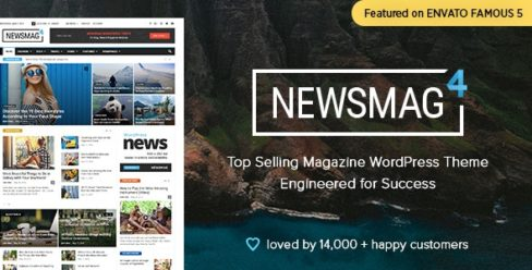 Newsmag – Newspaper & Magazine WordPress Theme – 9512331