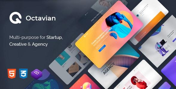 Octavian – Multipurpose Creative HTML5 Template – 27417172 Free Download