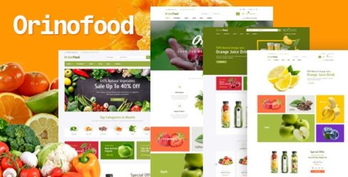 Orinofood – Organic Opencart Theme (Included Color Swatches) – 25394255