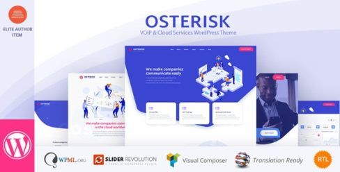 Osterisk: VOIP & Cloud Services WordPress Theme – 23077398