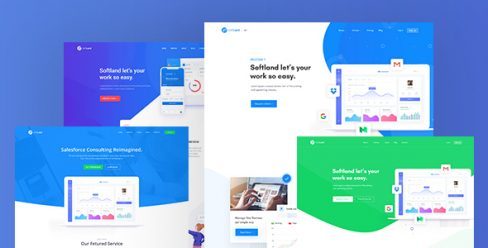 PatLan – Agency, Startup and SaaS Landing PSD Template – 23185483