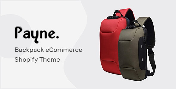 Payne – Backpack eCommerce Shopify Theme – 29738813 Free Download
