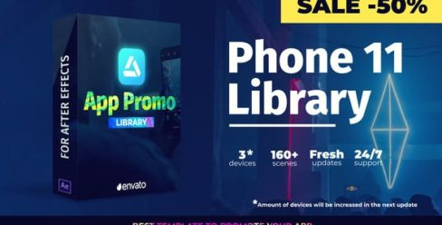 Phone 11 – App Promo Library – 25181924