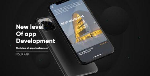 Phone 11 Pro App presentation Mockup – 25218491