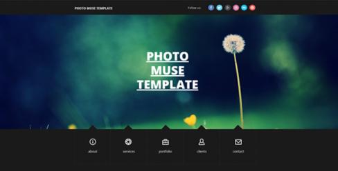 Photography Resume / Portfolio Muse Theme – 8469593