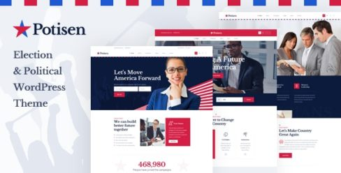 Potisen – Election & Political WordPress Theme – 25174878