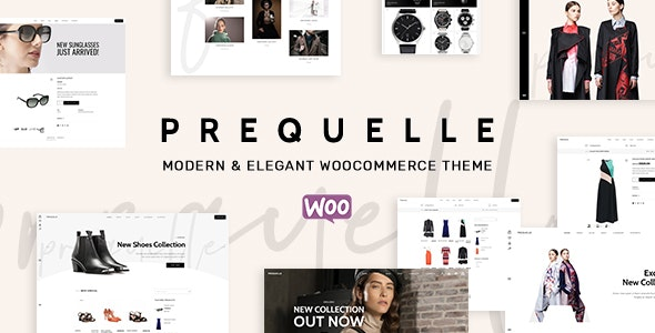 Prequelle – Elegant and Modern WooCommerce Theme – 22202312 Free Download