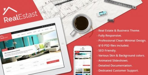 Real Estast – Real Estate & Business Drupal Theme – 8851346