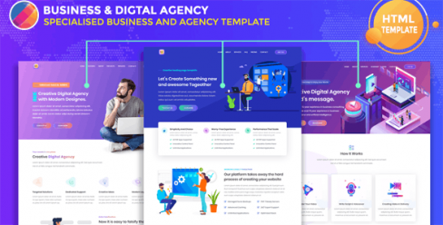 Remorma – Corporate Business & Digital Agency Template – 24353822