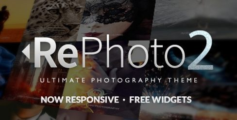 RePhoto – Photography Muse Template – 11189883