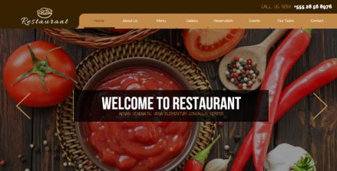 Restaurant / Pub / Bar / Caffee Template – 10543463