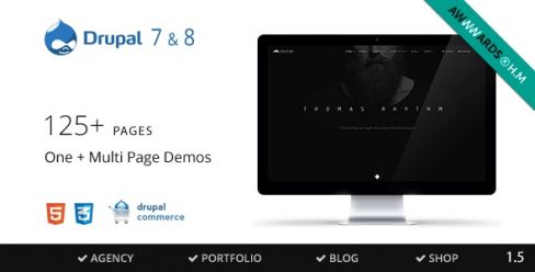 Rhythm – Drupal 7 & 8 Multipurpose Commerce theme – 10876314