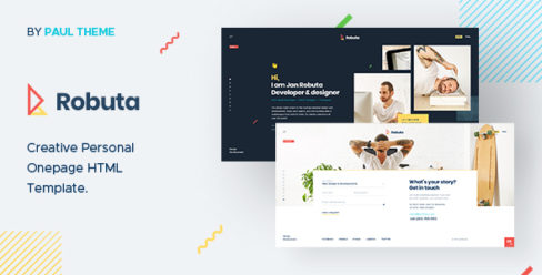 Robuta – Personal Onepage PSD Template – 25418791