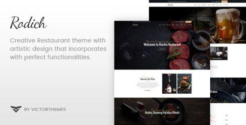 Rodich – A Restaurant WordPress Theme – 19949280