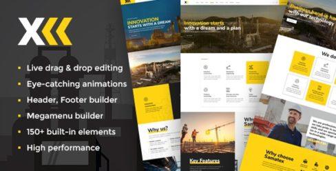 Samatex – Industrial WordPress Theme + Woocommerce – 23297127