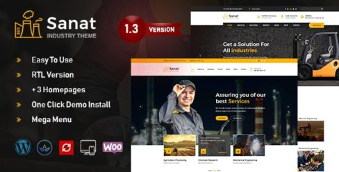 Sanat – Factory & Industry WordPress Theme – 22296547