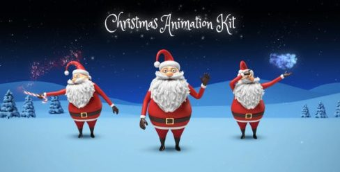 Santa – Christmas Animation DIY Kit – 13677367