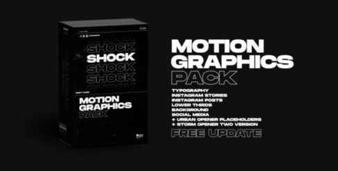 Shock | Motion Graphics Pack – 24181222