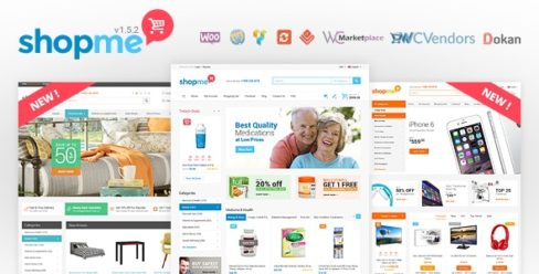 ShopMe – Multi Vendor Woocommerce WordPress Theme – 12701244