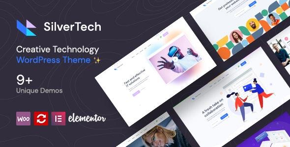 Silvertech – Creative WordPress Theme – 30629837 Free Download