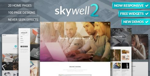 Skywell – MultiPurpose Adobe Muse Template – 12210113