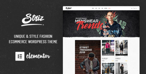 Striz – Fashion Ecommerce WordPress Theme – 23127573