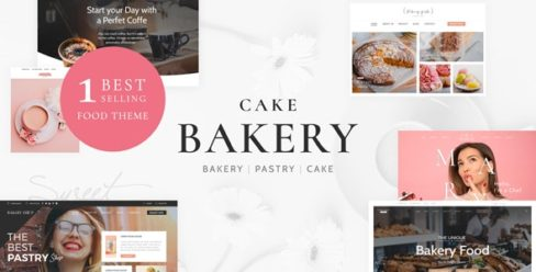 Cake Bakery – Pastry WP – 5514731
