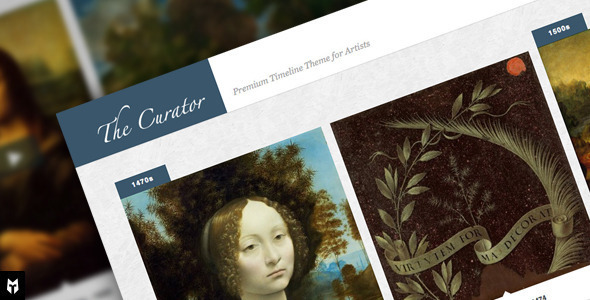 The Curator: Premier WP Timeline Theme for Artists – 2449908 Free Download