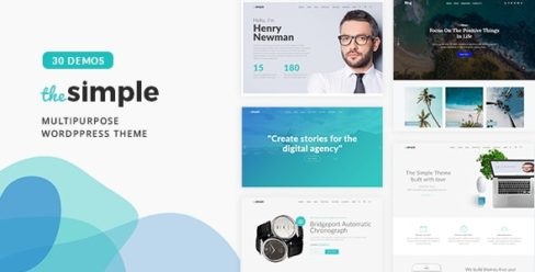 The Simple – Business WordPress Theme – 18406495