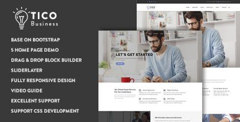 Tico – Responsive Business Drupal 8.7 Theme – 17424736