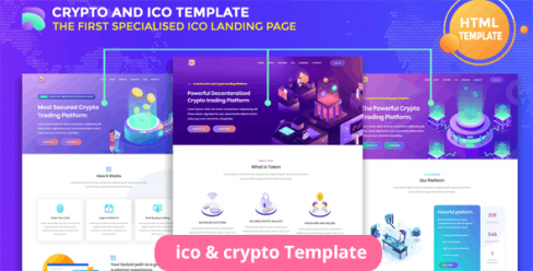 Tokenzero – ICO and Cryptocurrency Template – 24483293