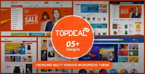 TopDeal – Multi Vendor Marketplace WordPress Theme (Mobile Layouts Ready) – 20308469