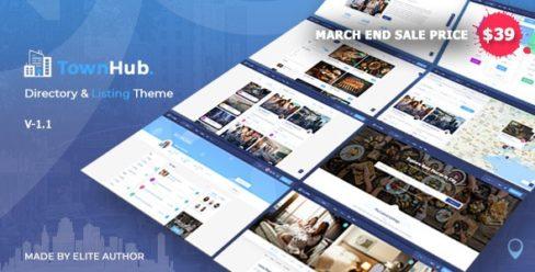 TownHub – Directory & Listing WordPress Theme – 25019571