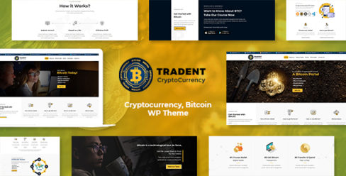 Tradent – Cryptocurrency, Bitcoin WordPress Theme – 21757004