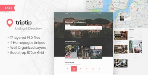 TripTip – Listing & Directory PSD Template – 22976726