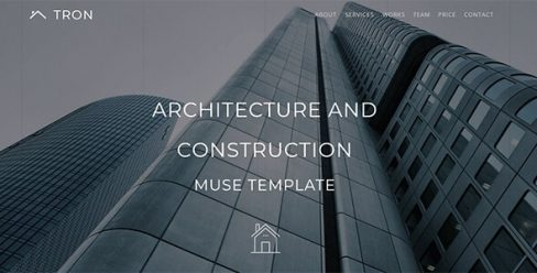 Tron_Architecture, Interior & Construction Muse Template – 21566613