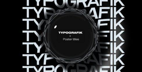 Typografik – Kinetic Poster Titles – 23461043