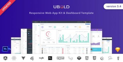Ubold – Admin & Dashboard Template – 13489470