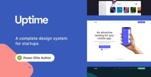Uptime – Responsive Elementor WordPress Theme for Business – 23863765