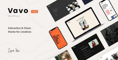 Vavo – An Interactive & Clean Theme for Creatives – 24463352