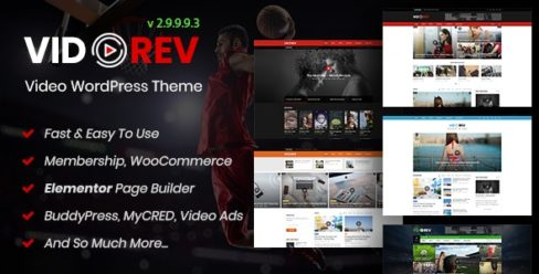 VidoRev – Video WordPress Theme – 21798615