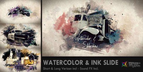 Watercolor & Ink Slideshow – 8514684