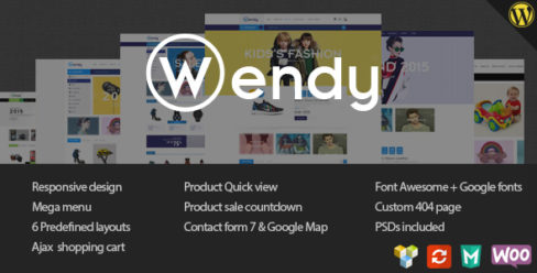 Wendy – Multi Store WooCommerce Theme – 11443116
