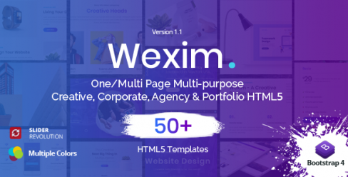 Wexim – One Page Parallax – 23244854