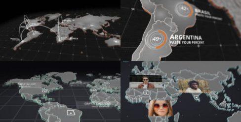 World Map Kit – 20592273