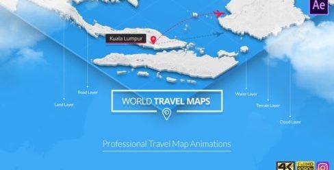 World Travel Maps – 23191952
